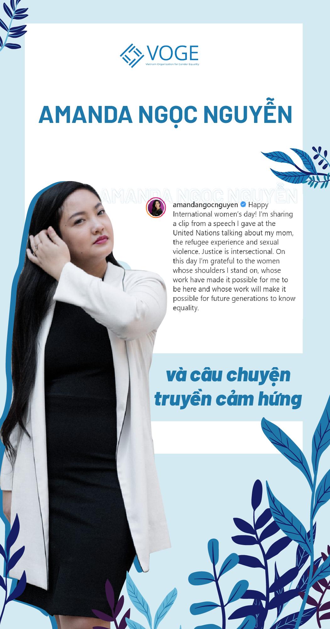 Amanda Ngoc Nguyen and her inspiring story